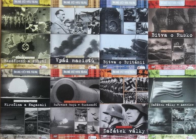 Kolekce Druhá světová válka 8DVD