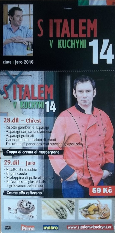 S Italem v kuchyni 14 - DVD