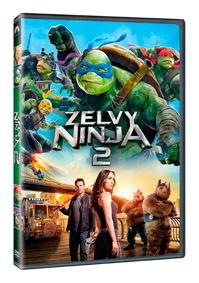 Želvy Ninja 2 DVD plast