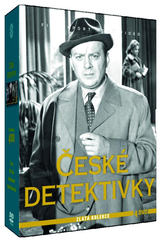 České detektivky - Zlatá kolekce 4 DVD