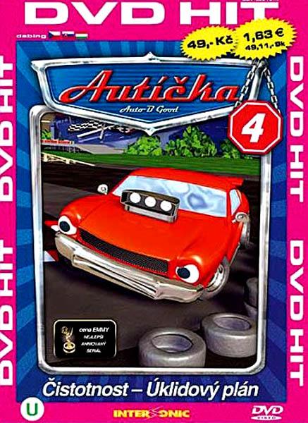 Autíčka 4 - DVD