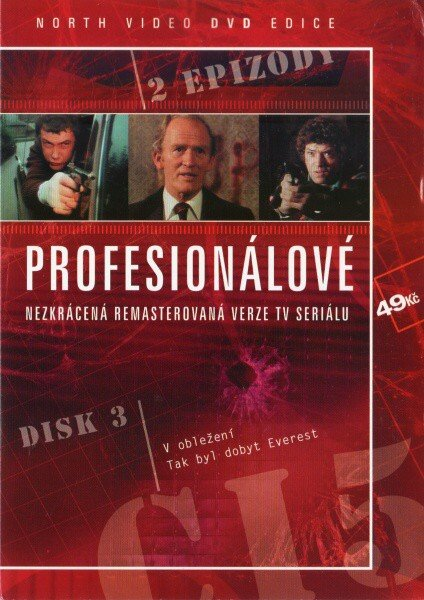 Profesionálové - disk 3 - DVD