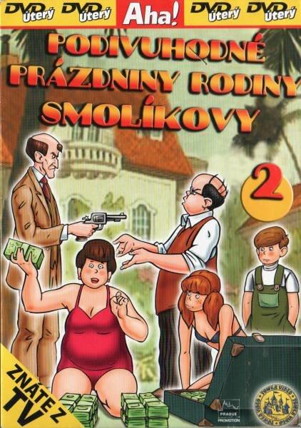 Podivuhodné prázdniny rodiny Smolíkovy 2 - DVD pošetka