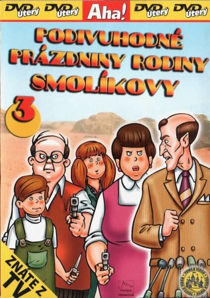 Podivuhodné prázdniny rodiny Smolíkovy 3 - DVD
