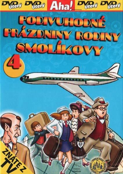 Podivuhodné prázdniny rodiny Smolíkovy 4 - DVD