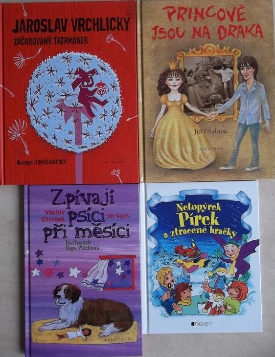 Kolekce knižní mix pro děti