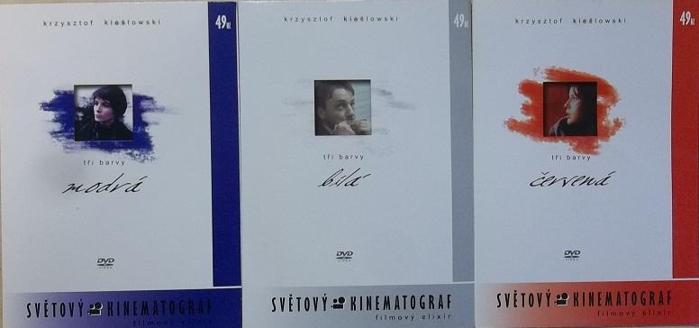 Kolekce Tři barvy modrá, bílá, červená - DVD