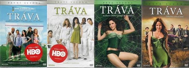 Kolekce Tráva 4 série DVD ( nekompletní )