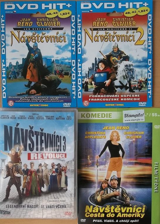 Kolekce Návštěvníci J.Reno 4x DVD