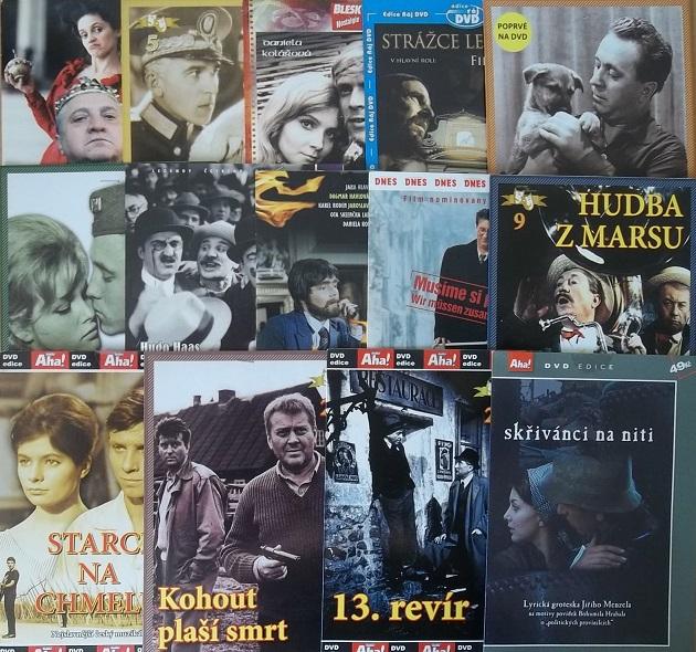 Kolekce český film 14DVD
