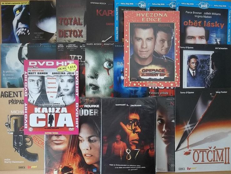 Kolekce Thriller a Horor 21 DVD