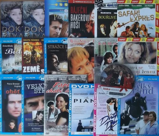 Kolekce Romantický a Rodinný film 19 DVD