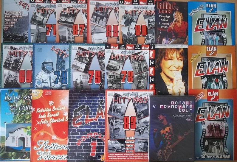 Kolekce Hudební 16CD + 3DVD