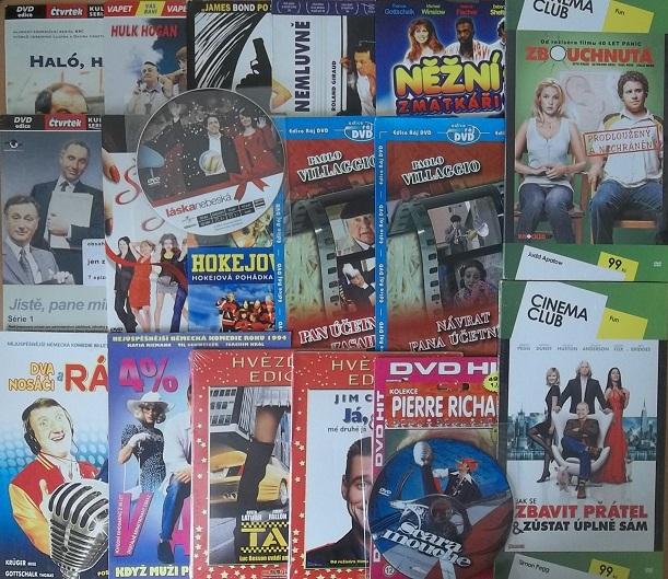 Kolekce komedie 19DVD