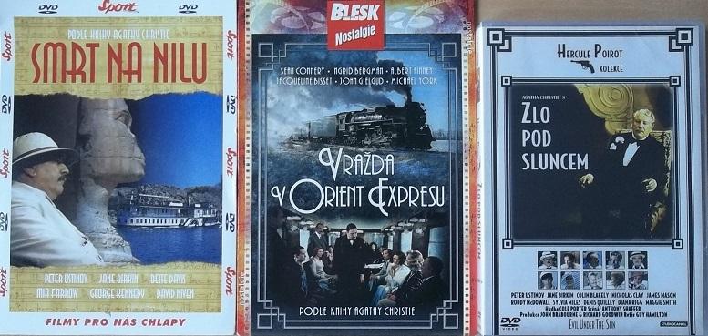 Kolekce Hercule Poirot 3DVD