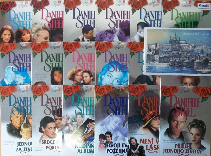 Kolekce Danielle Steel 19DVD