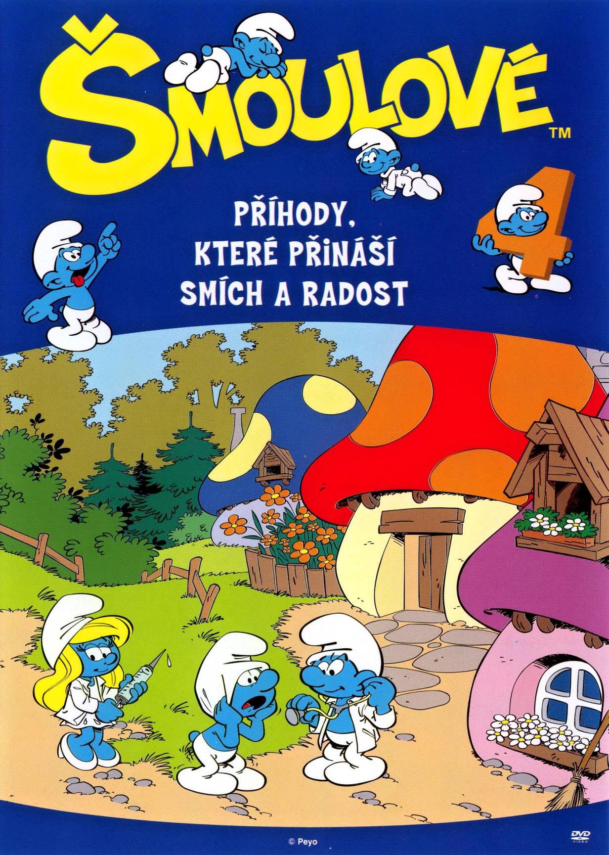 Šmoulové 4 - DVD