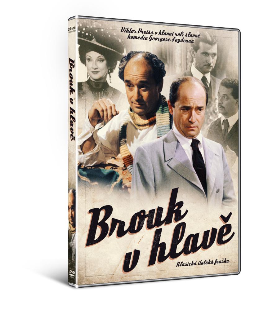 Brouk v hlavě - DVD
