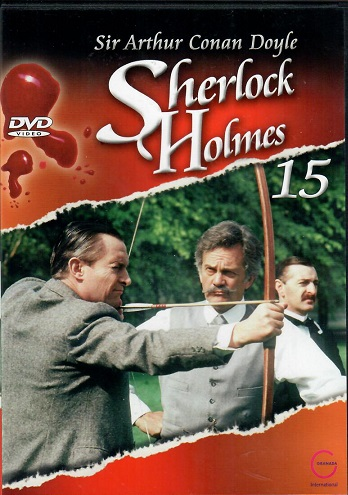 Sherlock Holmes 15 - Záhada na Thorském mostě/Na starém zámku v Shoscombe -DVD