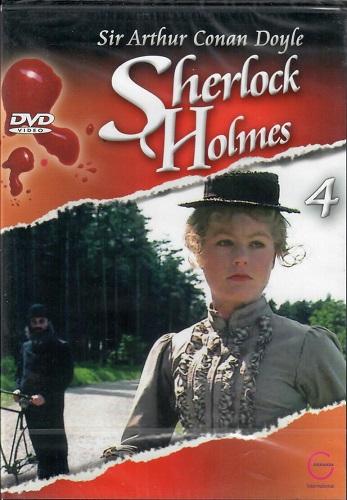 Sherlock Holmes 4 - Osamělá cyklistka/mrzák - DVD
