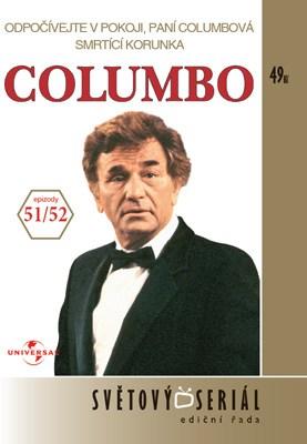 Columbo 51/52 - Odpočívejte v pokoji, paní Columbová/Smrtící korunka - DVD