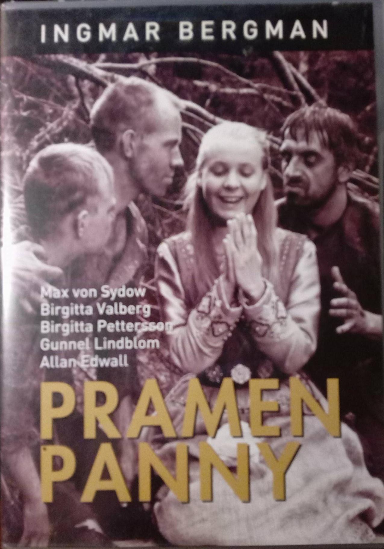 Pramen Panny - DVD