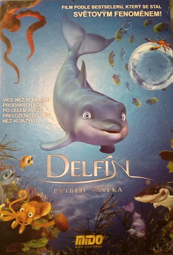 Delfín, příběh snílka - DVD slim