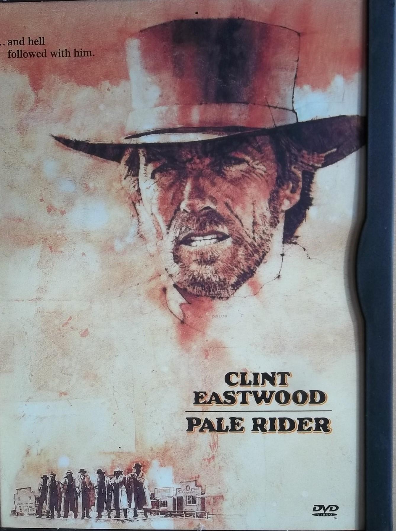 Pale Rider - DVD plast