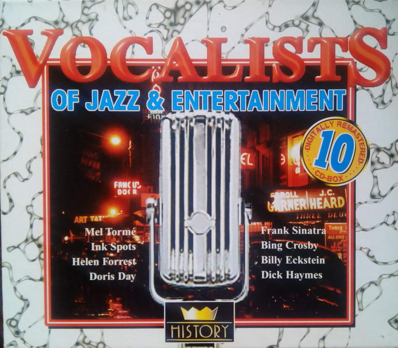 VOCALISTS: Of jazz & Entertainment - 5CD