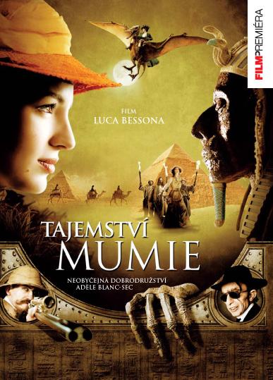 Tajemství mumie ( Plast ) - DVD