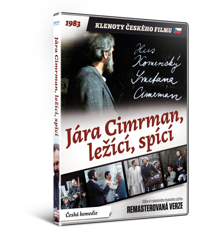 Jára Cimrman, ležící, spící - edice KLENOTY ČESKÉHO FILMU - DVD