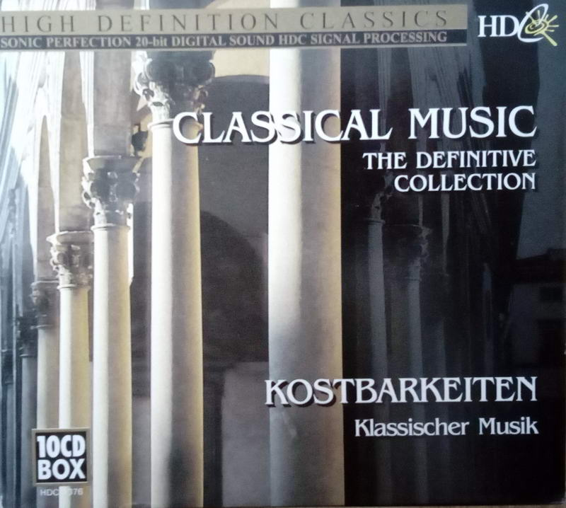 Classical music the definitive collection - kostbarkeiten 10CD