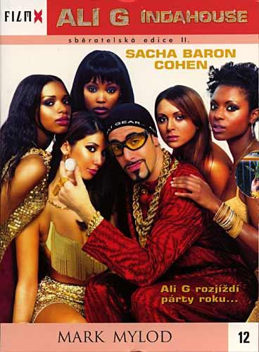 Ali G Indahouse -  digipack DVD FilmX