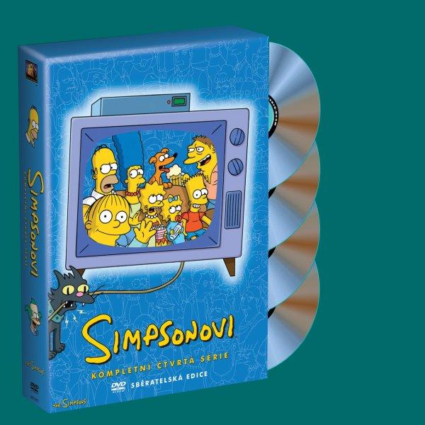 Simpsonovi 4. série DVDSE