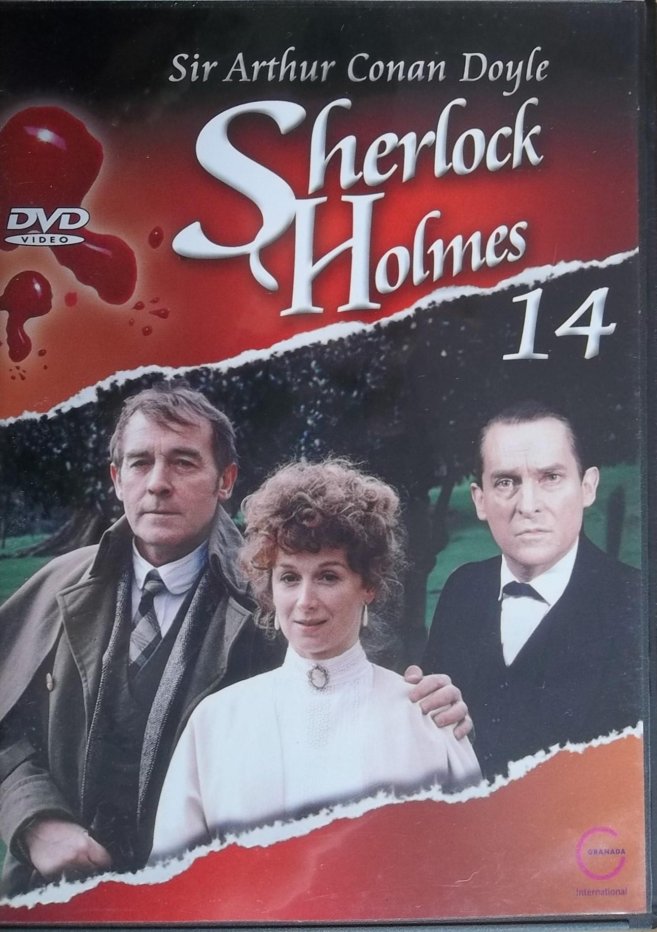 Sherlock Holmes 14 - Nezvěstná šlechtična DVD