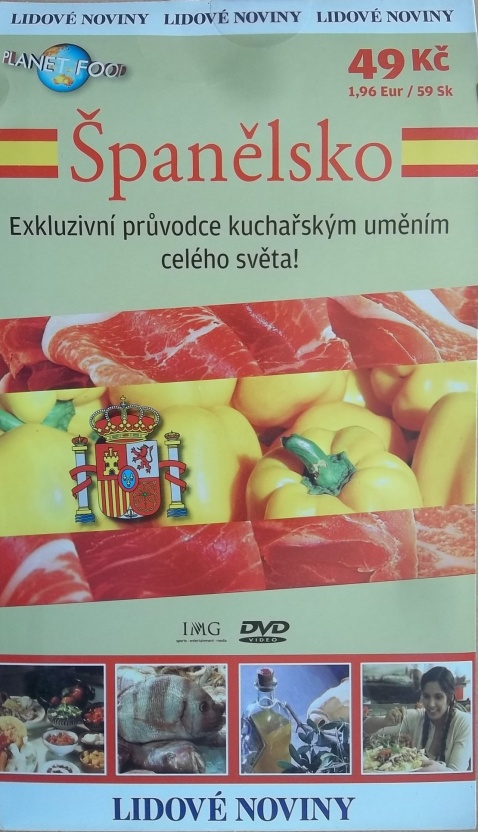 Španělsko - Planet-food DVD