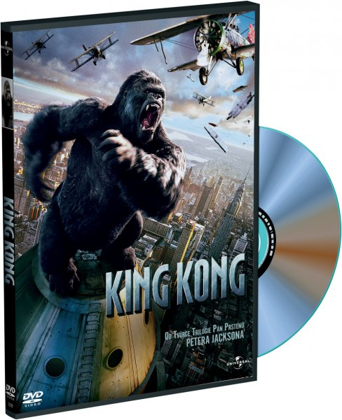 King Kong (2005) - DVD plast
