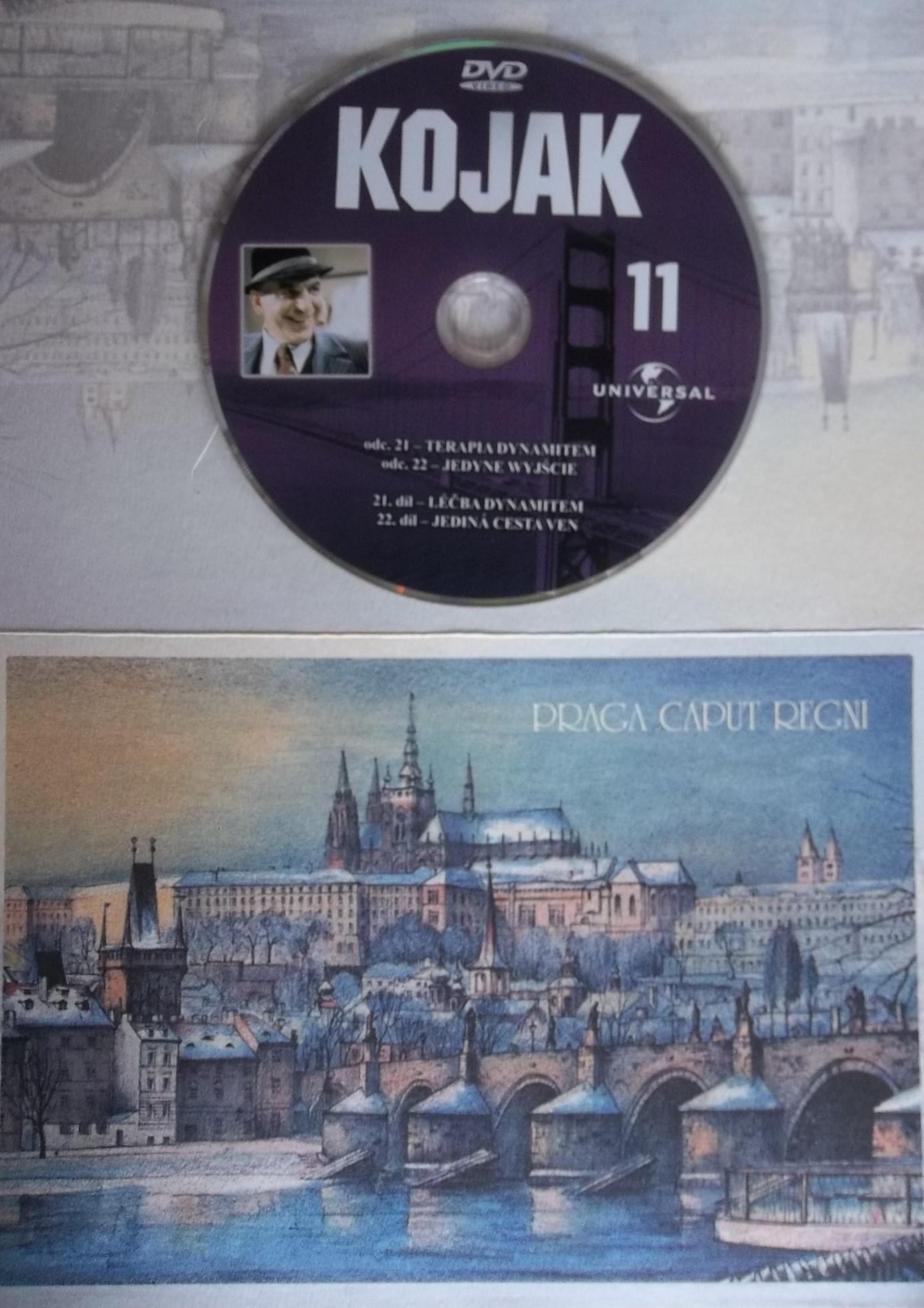 Kojak 11 (dárková obálka) DVD