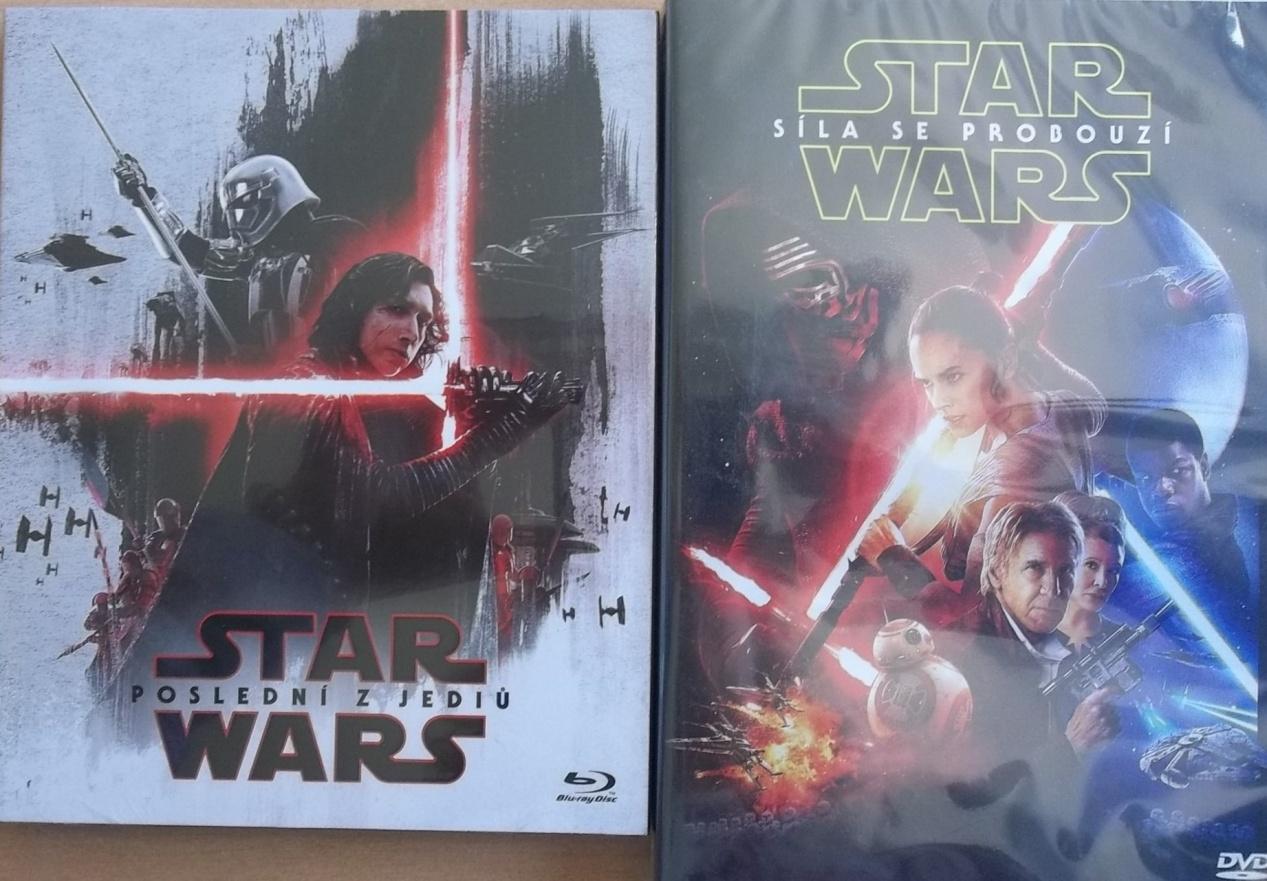 Star Wars: Poslední z Jediů 2BD+(2D+bonusový disk-limitovaná  edice První řád)