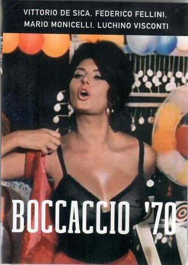 Boccaccio 70  - DVD ( originální znění s českými titulky )