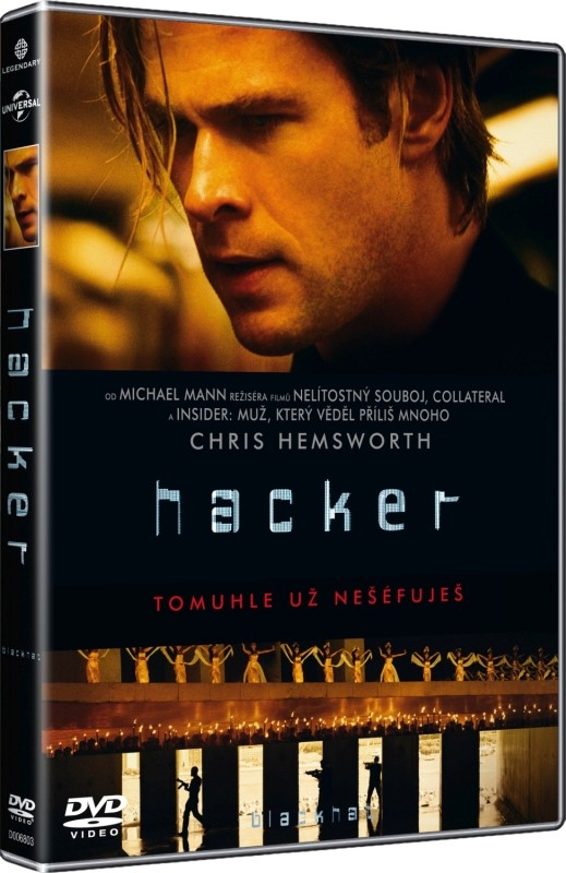 Hacker - DVD plast