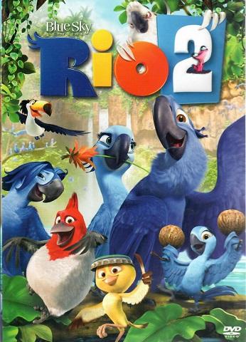 Rio 2 ( plast ) - DVD