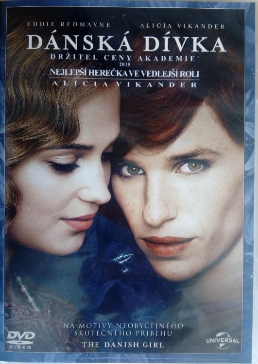Dánská dívka DVD plast