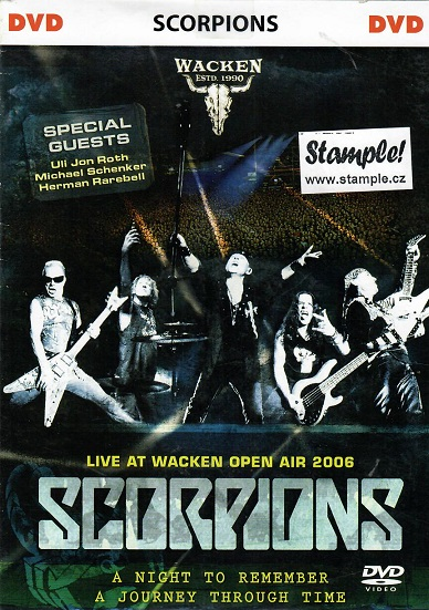 Scorpions: Live at Wacken Open Air 2006 DVD - pošetka DVD