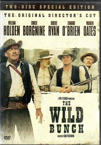 The Wild Bunch / Divoká banda DVD (původní znění, cz titulky) plast DVD