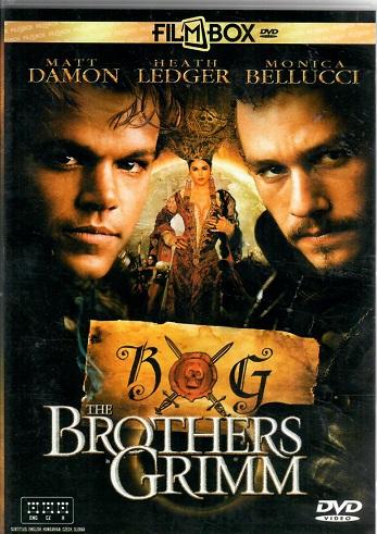 The brothers Grimm / Kletba bratří Grimmů - plast DVD