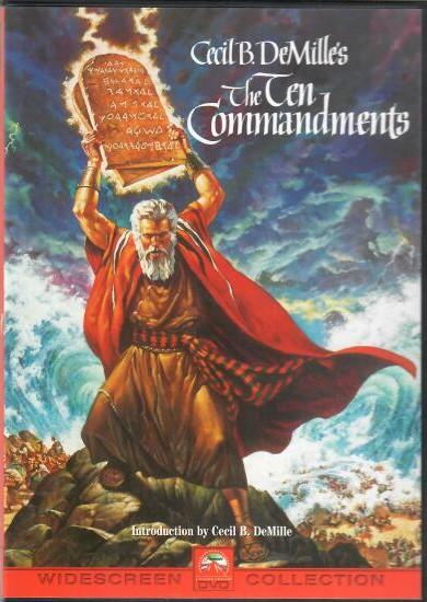 The Ten Commandments / Desatero přikázání 2DVD ( originální znění, titulky CZ ) plast DVD