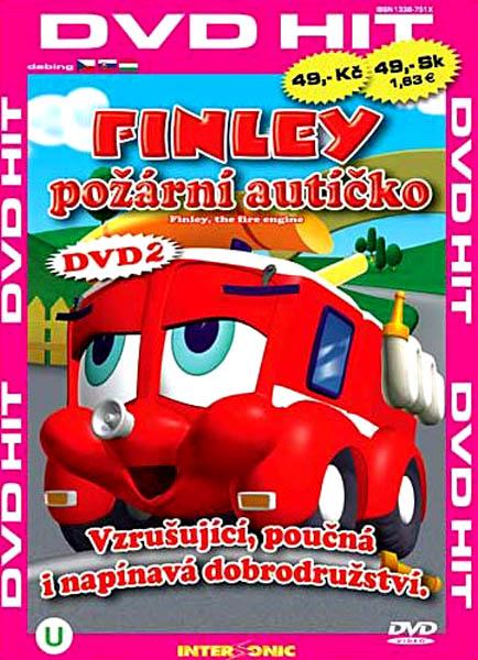 Finley - požární autíčko - 2 - DVD