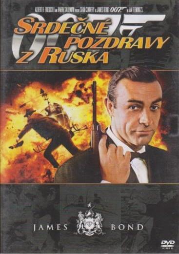 James Bond - Srdečné pozdravy z Ruska - DVD