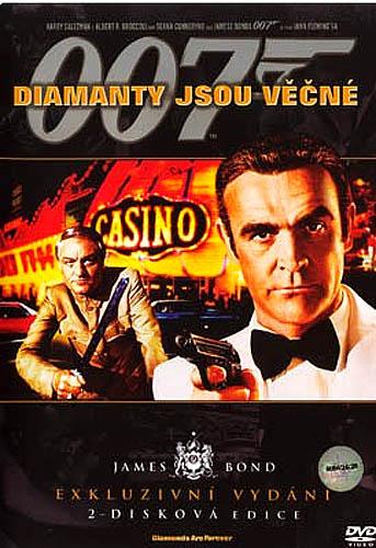 James Bond - Diamanty jsou věčné - DVD
